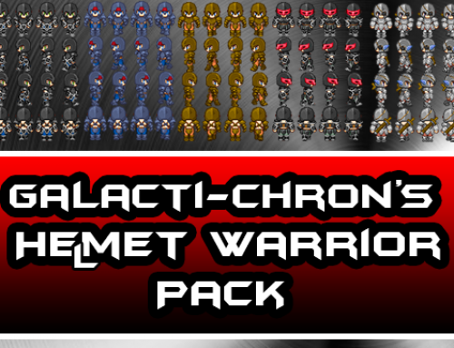 Galacti-Chron's Helmet Warrior Pack Released!