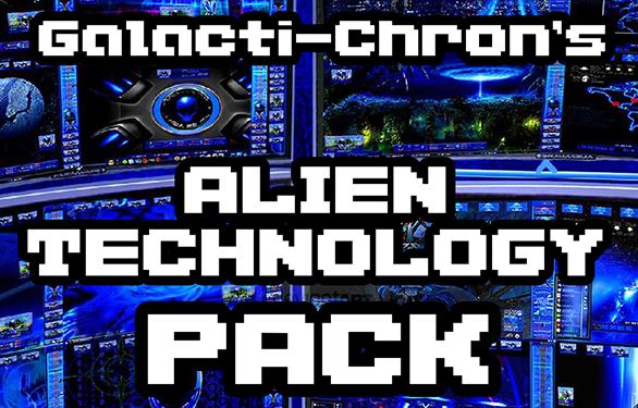 Galacti-Chron's Alien Technology Pack Released   Psychronic Game Studios