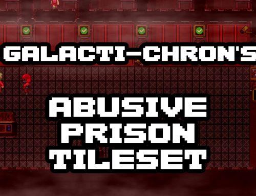 Galacti-Chron's Abusive Prison Tileset Pack