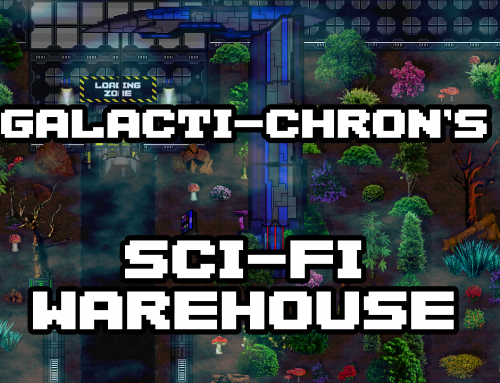 Galacti-Chron's Sci-Fi Warehouse Tileset Pack