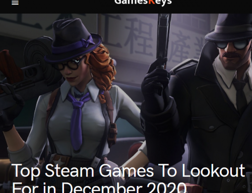GamesKeys – Top Steam Games To Look Out For 2020